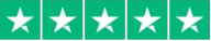 5 white stars on a green background