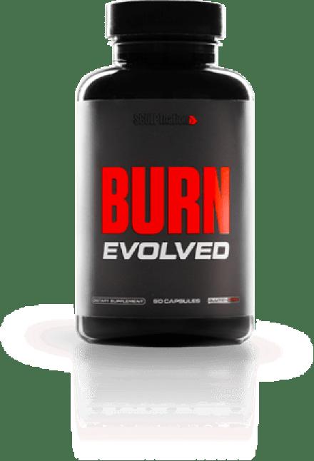 one bottle of burn evolved