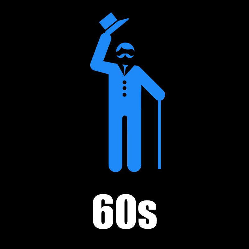 60s Male